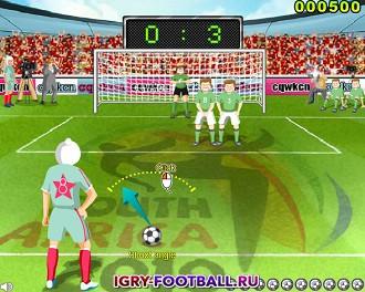 Игра штрафные удары в футболе